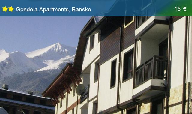 cazare bansko gondola apartaments