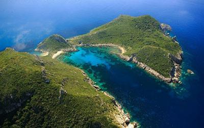corfu ghid turistic Afionas Arillas